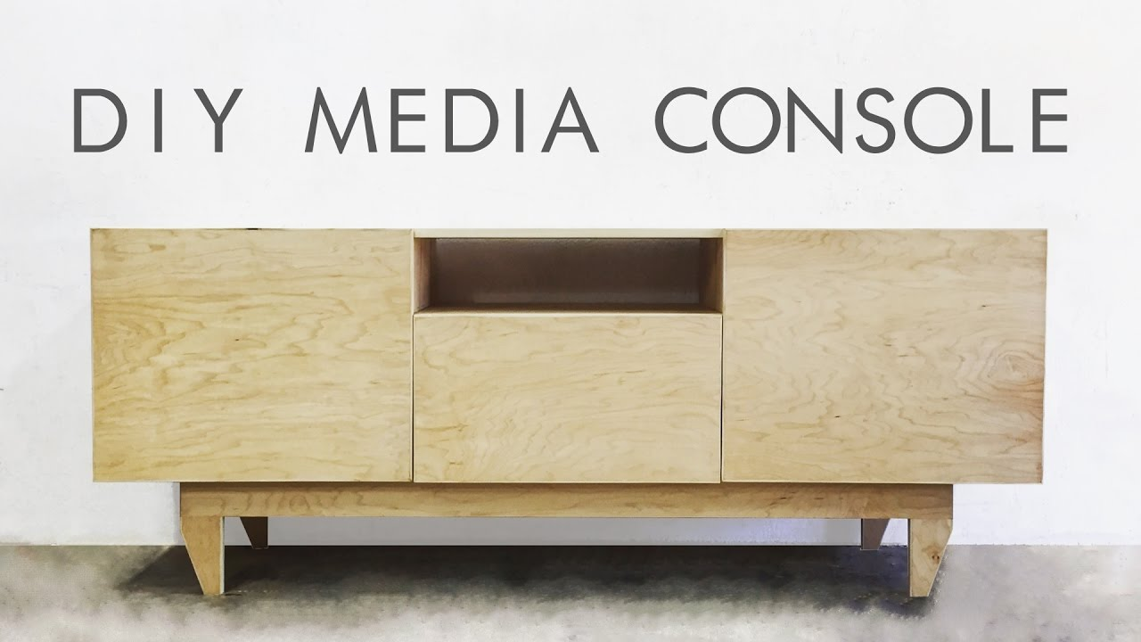 DIY Mid-Century Modern Credenza / Console Table | Modern Builds | EP on mid century modern 9 drawer dresser, jesper credenza office storage wood, mid century wood furniture,