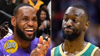Kemba Walker has a shocking record vs. LeBron James | The Jump