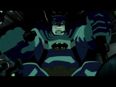 Batman On Bat-Tank!
