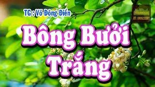 Bông Bưởi Trắng Karaoke | Vọng Cổ Dây Đào | Võ Đông Điền