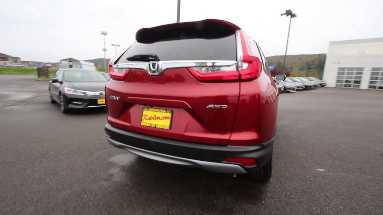 2017 Honda CR-V EX-L   Molten Lava Pearl   HH628040 ...