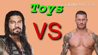 Toys Roman reigns vs randy orton