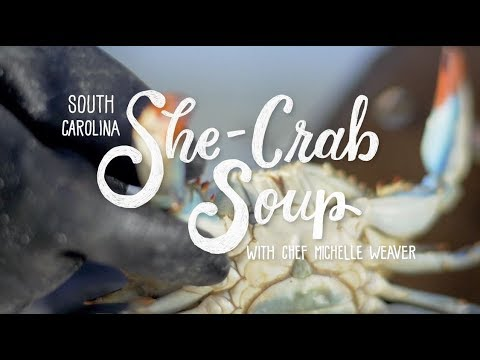 South Carolina She-Crab Soup With Chef Michelle Weaver