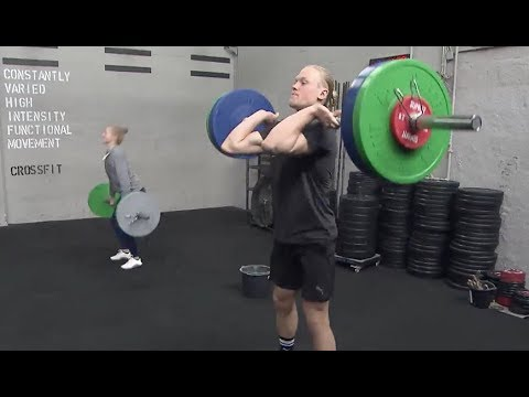 CrossFit-Athlet Joshua Wichtrup beim Training in Flensburg