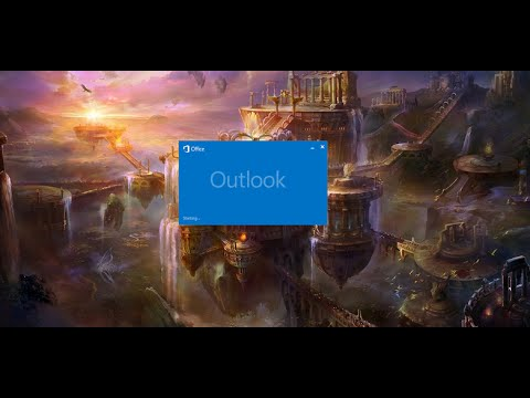outlook loading profile stuck office 365