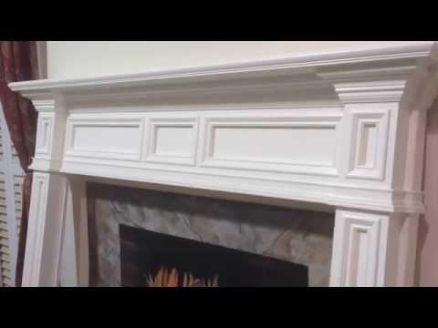 The Fontana Mantel - Mission Style Fireplace Mantel