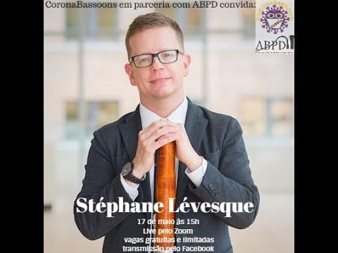 Live com o professor Stéphane Lévesque