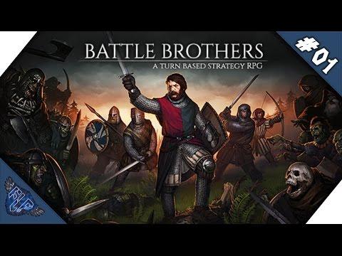 """Let's Play Battle Brothers – Die """"Freelancers"""" ziehen los #01 [Deutsch HD 60FPS]"""