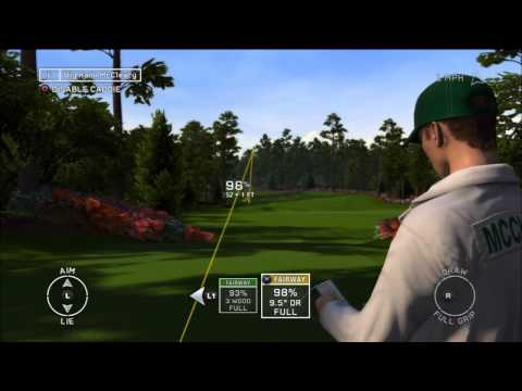 Tiger Woods PGA Tour 12: The Masters Gameplay Demo (PS3, Xbox 360)