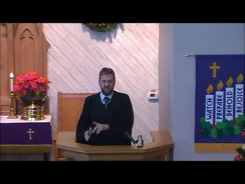 St. Matthew's Ev. Lutheran Church Sunday Sermon - December 24th, 2017