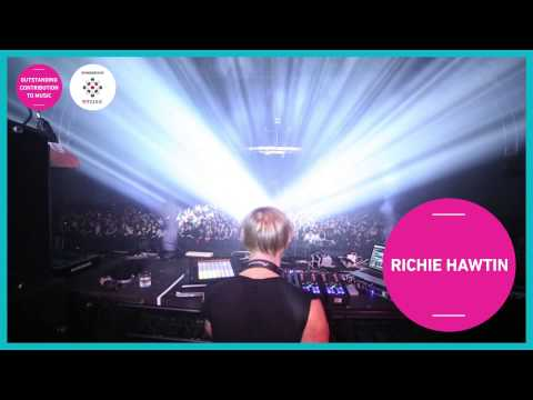 Richie Hawtin  Outstanding Contribution to Music Award AIM