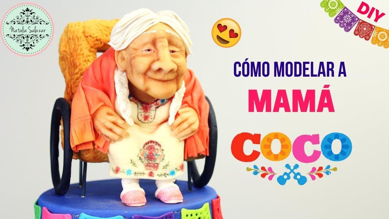 Mamá Coco cake topper😍 película Disney-Pixar - YouTube