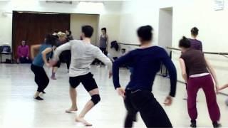 Интенсив по современной хореографии