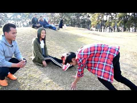 Valentine's special video in Shillong:kissing prank:monvlogs