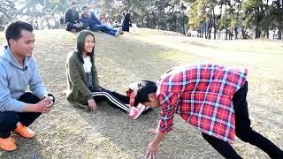 Valentine's special video in Shillong:kissing prank:monvlogs