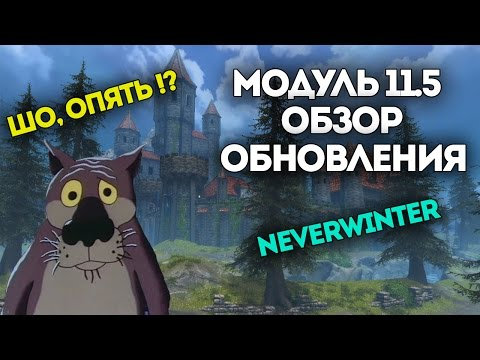 Видео Модуль 11.5 | Новая экипировка. Neverwinter Online