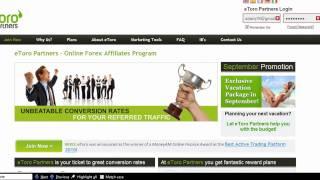 LOOK!!! Best Forex Trading Affiliate Program - etoro affiliate