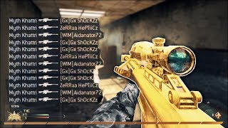 INSANE 12 MAN KILLFEED! TOP 50 BANGERS OF ALL TIME! [BEST EVER SNIPER MONTAGE]