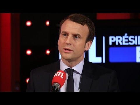 Emmanuel Macron, l'invité du premier Petit-déjeuner de la présidentielle sur RTL - l'intégrale