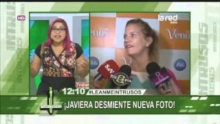 Javiera Acevedo desmiente que foto filtrada sea de ella