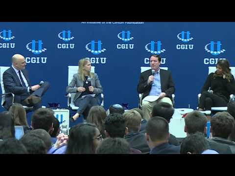 From Mobiles to Drones: The Next Leapfrog Technologies - Panel Discussion - CGI U 2016