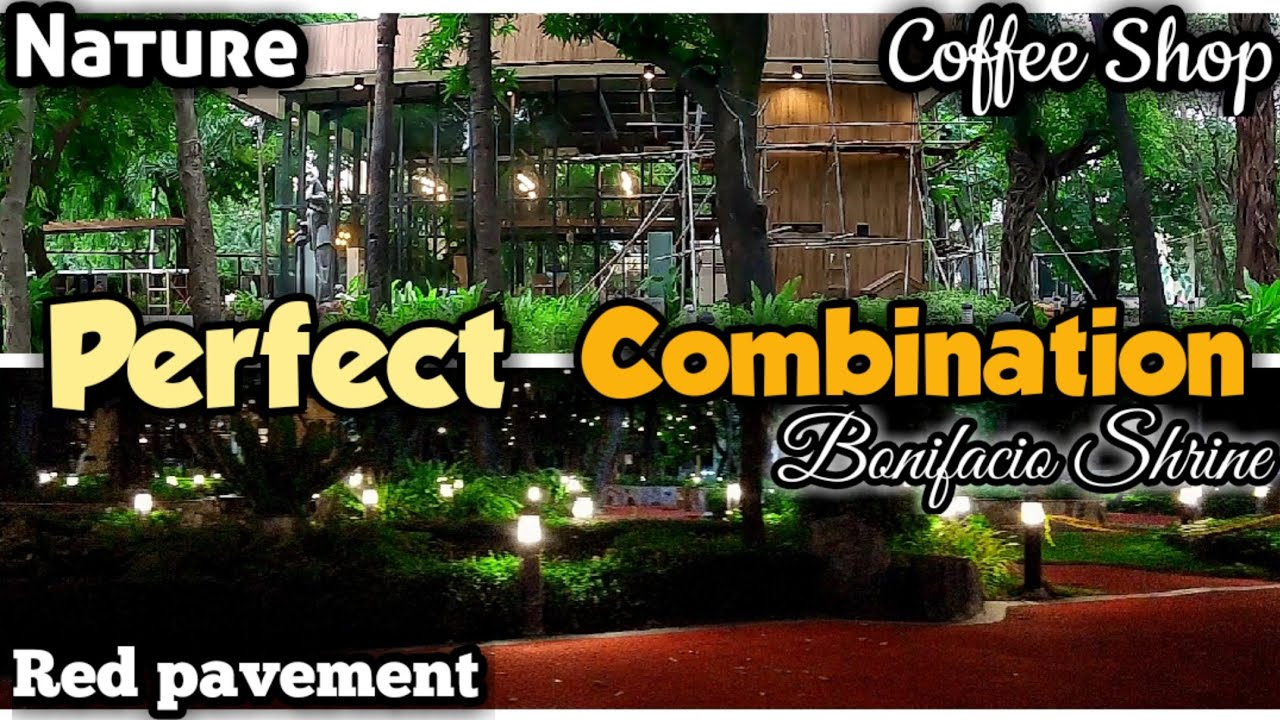 Mas pinagandang Coffee Shop ng Bonifacio Shrine | Manila Update Bonifacio Shrine