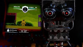 TRAPPED OVERNIGHT AT THE FNAF PIZZERIA.. AGAIN! | Five Nights at Freddy's Project Arcade