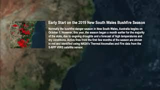 Early Start on the 2019 New South Wales Bushfire Season