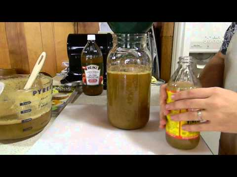 homemade apple cider vinegar plus fruit fly trap youtube. Black Bedroom Furniture Sets. Home Design Ideas