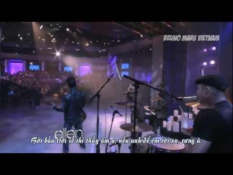 [BMVN][Vietsub] Bruno Mars - It Will Rain (Live on The Ellen DeGeneres Show)