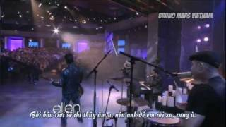 [BMVN][Vietsub] Bruno Mars - It Will Rain (Live on The Ellen DeGeneres Show)