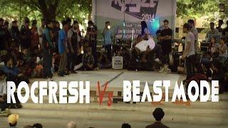 RocFresh Crew Vs BeastMode Crew | Freeze 2014 | India
