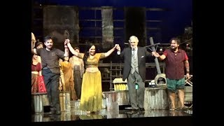 The Pearl Fishers - Domingo; Machaidze, Camarena, Daza - LA Opera, Oct 15, 2017 - Curtain Calls