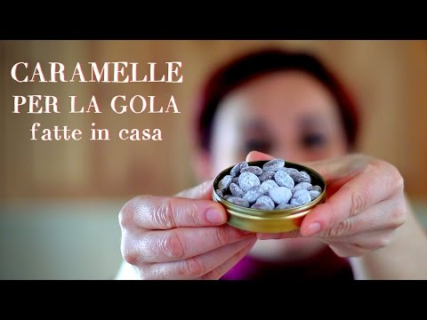 CARAMELLE PER LA GOLA Fatte in casa - Homemade Cough Drops