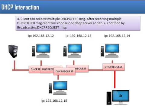 DHCP(Dynamic Host Configuration Protocol) - With Example