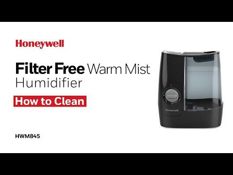 Honeywell Warm Mist Humidifier HWM845 - How to Clean