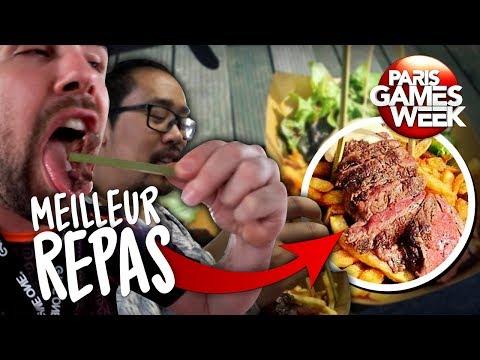 LE MEILLEUR FOOD TRUCK DE LA PARIS GAMES WEEK ! DU TRÈS LOURD !!
