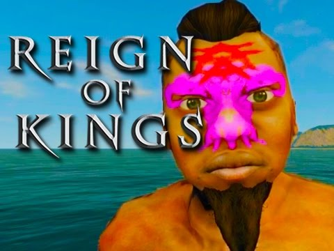 Reign of Kings Funny Moments!  (First Battle, Fails, and More!) Part 1