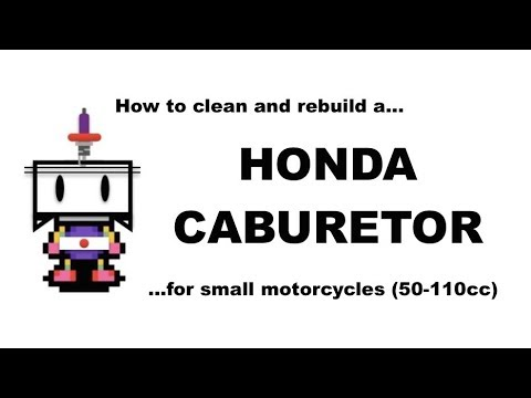 How to Clean and Rebuild a Honda C50, 70, 90/Super Cub