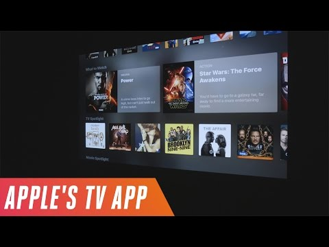 New Apple TV app first look