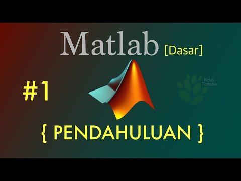 Tutorial Matlab Bahasa Indonesia [Dasar] #1 - Pendahuluan