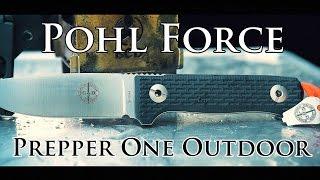 Pohl Force Prepper One Outdoor - Preppermesser & Survivalmesser