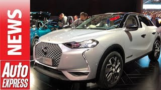 New DS 3 Crossback - small SUV revealed at Paris Motor Show