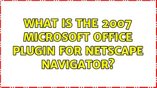 What is the 2007 Microsoft Off…