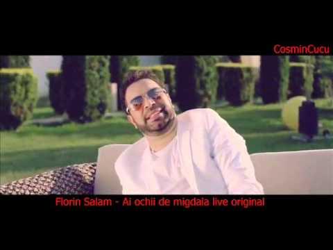 Florin Salam - Ai ochii de migdala live original