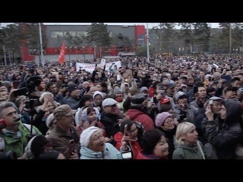 Протесты в Бурятии.Репортаж нашего спецкора