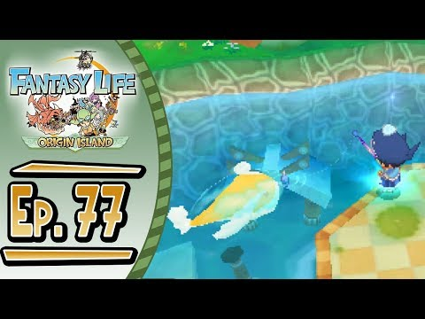 Fantasy Life - Origin Island :: # 77 :: GOD ANGLER!!!