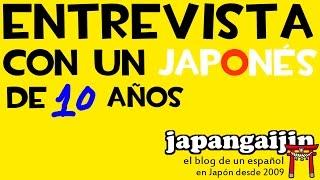 Entrevista con un japones de 10 años