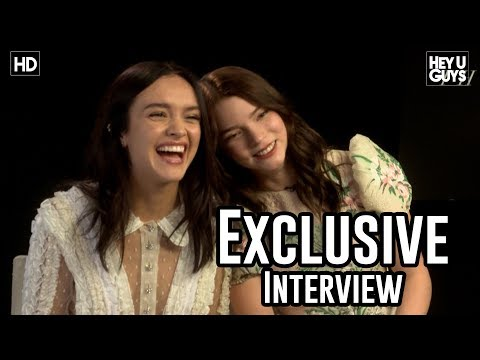 Olivia Cooke & Anya Taylor Joy | Thoroughbreds Interview