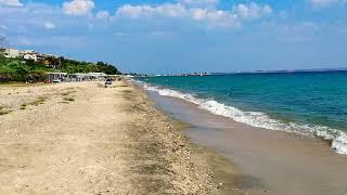 Nea Moudania Beach, Halkidiki, Greece 06.07.2020